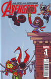 Cover Thumbnail for All-New All-Different Avengers Annual (2016 series) #1 [Skottie Young Marvel Babies Variant]