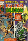 Cover for Astonishing Tales (Marvel, 1970 series) #2 [British]