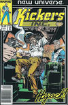Cover for Kickers, Inc. (Marvel, 1986 series) #6 [Newsstand Edition]