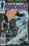 Cover Thumbnail for Nightmask (1986 series) #11 [Newsstand cover]