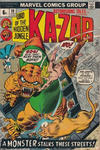 Cover Thumbnail for Astonishing Tales (1970 series) #18 [British]