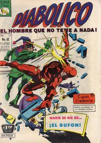 Cover Thumbnail for Diabólico (Editora de Periódicos La Prensa S.C.L., 1966 series) #42