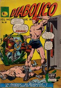 Cover Thumbnail for Diabólico (Editora de Periódicos La Prensa S.C.L., 1966 series) #68