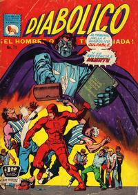 Cover Thumbnail for Diabólico (Editora de Periódicos La Prensa S.C.L., 1966 series) #71