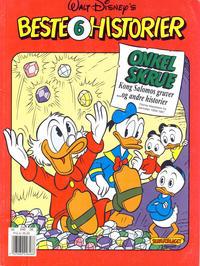 Cover Thumbnail for Walt Disney's Beste Historier (Hjemmet / Egmont, 1991 series) #6 - Onkel Skrue - Kong Salomos gruver og andre historier