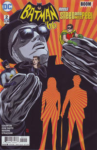 Cover Thumbnail for Batman '66 Meets Steed and Mrs. Peel (DC, 2016 series) #2