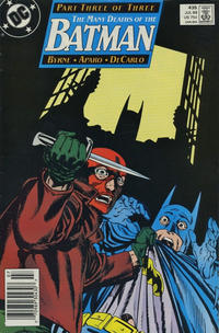 Cover for Batman (DC, 1940 series) #435 [Direct]