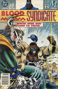 Cover Thumbnail for Blood Syndicate (DC, 1993 series) #7 [Newsstand]
