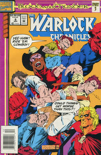 Cover Thumbnail for Warlock Chronicles (Marvel, 1993 series) #6 [Newsstand]
