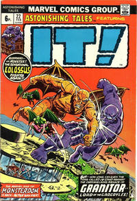 Cover Thumbnail for Astonishing Tales (Marvel, 1970 series) #22 [British]