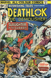 Cover Thumbnail for Astonishing Tales (Marvel, 1970 series) #32 [British]