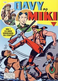 Cover Thumbnail for Davy og Miki (Hjemmet / Egmont, 2014 series) #7