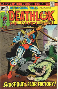 Cover Thumbnail for Astonishing Tales (Marvel, 1970 series) #30 [British]