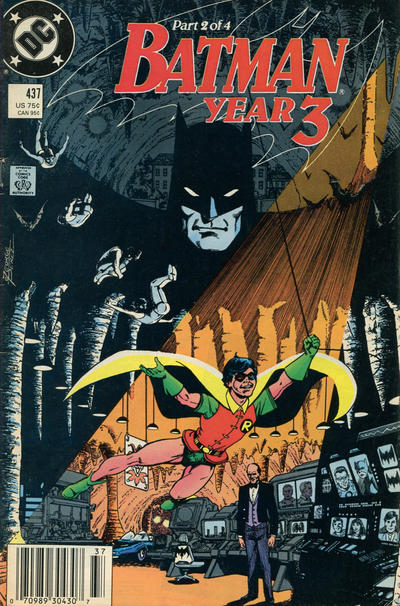 Cover for Batman (DC, 1940 series) #437 [Direct]