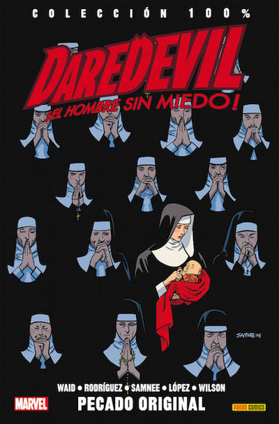 Cover for 100% Marvel. Daredevil: El Hombre Sin Miedo (Panini España, 2012 series) #7