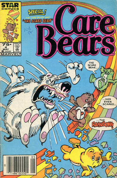 Cover for Care Bears (Marvel, 1985 series) #4 [Direct]