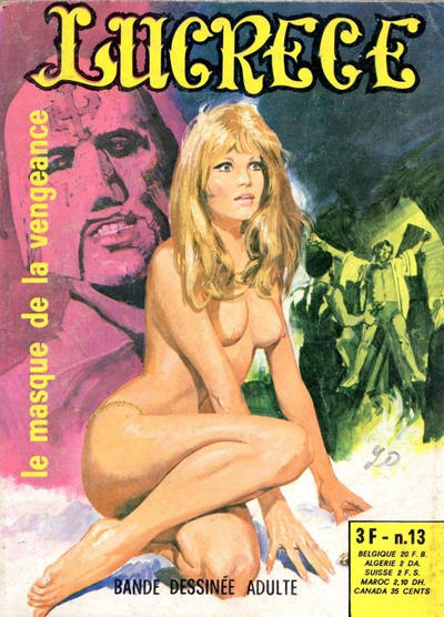 Cover for Lucrece (Elvifrance, 1972 series) #13