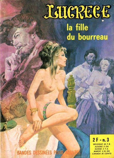 Cover for Lucrece (Elvifrance, 1972 series) #3