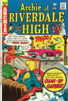 Cover for Archie at Riverdale High (Archie, 1972 series) #20