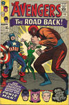 Cover Thumbnail for The Avengers (1963 series) #22 [British Price Variant]
