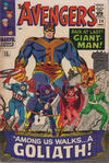 Cover for The Avengers (Marvel, 1963 series) #28 [British]
