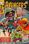 Cover for The Avengers (Marvel, 1963 series) #88 [British Price Variant]