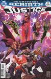 Cover for Justice League (DC, 2016 series) #3 [Tony S. Daniel / Sandu Florea Cover]