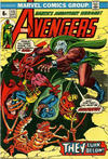 Cover Thumbnail for The Avengers (1963 series) #115 [British Price Variant]
