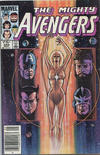 Cover Thumbnail for The Avengers (1963 series) #255 [Canadian]