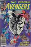 Cover Thumbnail for The Avengers (1963 series) #254 [Newsstand]