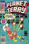 Cover for Planet Terry (Marvel, 1985 series) #3 [Newsstand Edition]