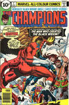 Cover for The Champions (Marvel, 1975 series) #7 [British Price Variant]