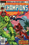 Cover for The Champions (Marvel, 1975 series) #9 [British Price Variant]