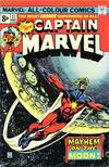Cover for Captain Marvel (Marvel, 1968 series) #37 [British]