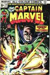 Cover for Captain Marvel (Marvel, 1968 series) #36 [British Price Variant]