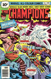 Cover for The Champions (Marvel, 1975 series) #6 [British Price Variant]
