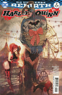 Cover for Harley Quinn (DC, 2016 series) #2