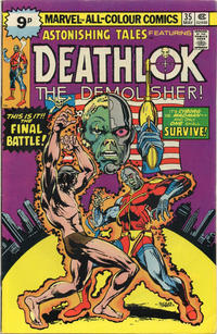 Cover Thumbnail for Astonishing Tales (Marvel, 1970 series) #35 [British]