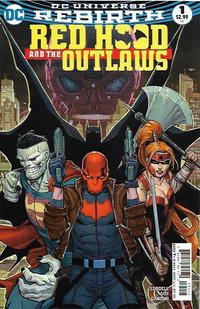 Cover Thumbnail for Red Hood and the Outlaws (DC, 2016 series) #1