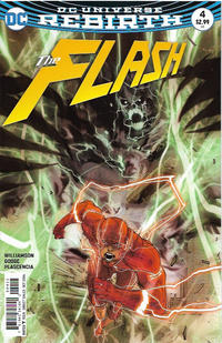 Cover Thumbnail for The Flash (DC, 2016 series) #4 [Carmine Di Giandomenico Cover]