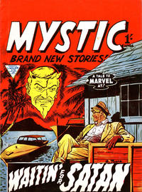 Cover Thumbnail for Mystic (L. Miller & Son, 1960 series) #46
