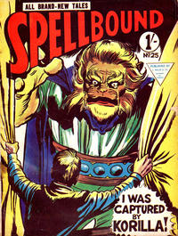 Cover Thumbnail for Spellbound (L. Miller & Son, 1960 ? series) #25