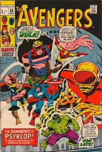 Cover for The Avengers (Marvel, 1963 series) #88 [Regular Edition]