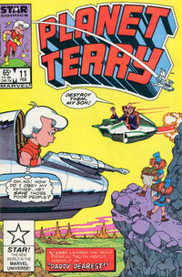 Cover Thumbnail for Planet Terry (Marvel, 1985 series) #11 [Direct]