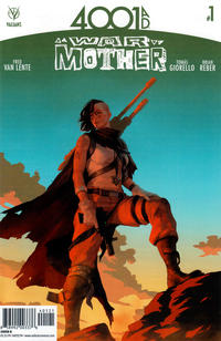 Cover Thumbnail for 4001 A.D.: War Mother (Valiant Entertainment, 2016 series) #1 [Cover B - Jelena Kevic Djurdjevic]