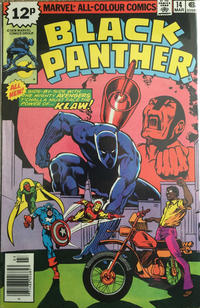 Cover Thumbnail for Black Panther (Marvel, 1977 series) #14 [British]