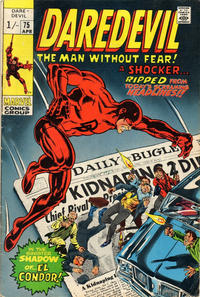 Cover Thumbnail for Daredevil (Marvel, 1964 series) #75 [British]