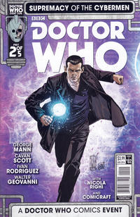 Cover Thumbnail for Doctor Who: Supremacy of the Cybermen (Titan, 2016 series) #2 [Cover A]