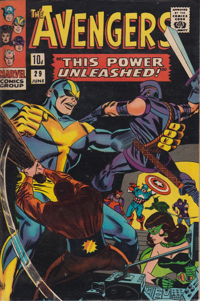 Cover for The Avengers (Marvel, 1963 series) #29 [Regular Edition]