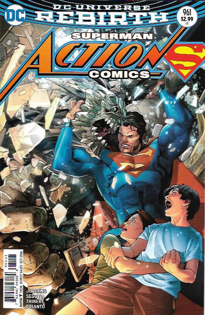 Cover for Action Comics (DC, 2011 series) #961 [Clay Mann Cover]